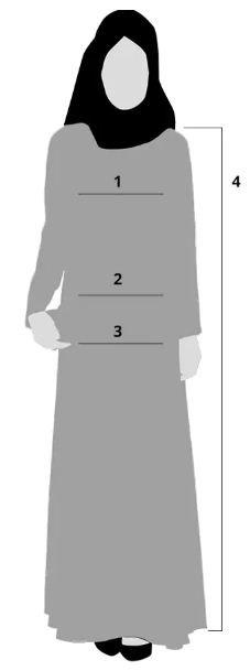جدول مقاسات مودانيسا للملابس